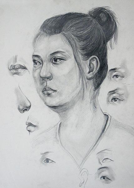 玉雕素描设计图片
